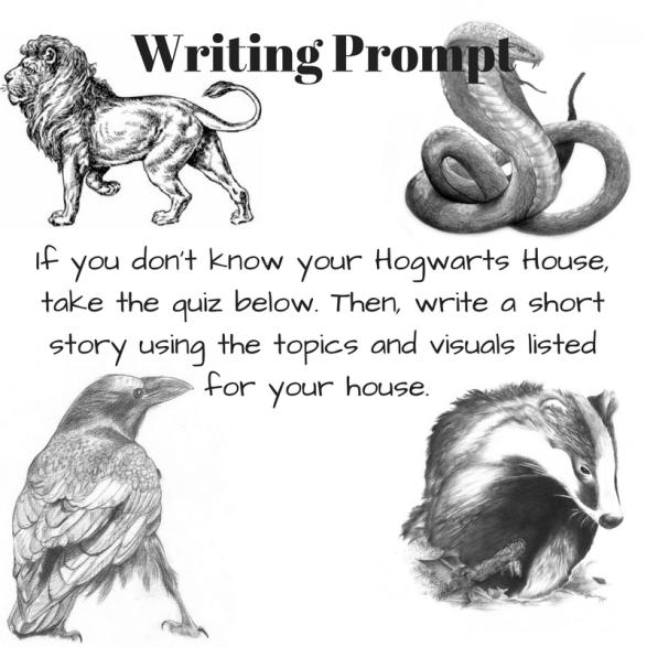 harry potter writing prompt  u2013 b  buechter u0026 39 s books