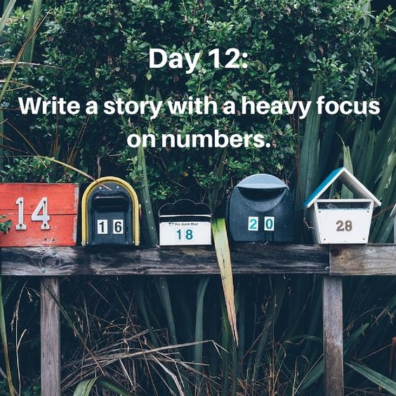 Writing prompt 12
